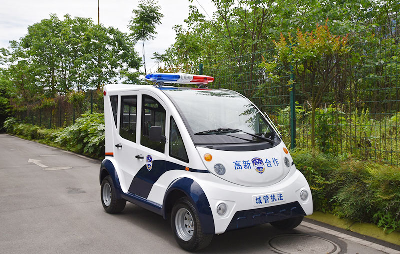 Four Closed Electric Patrol Cars Auto Body Parts