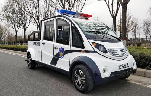 Double-Row Pickup Electric Patrol Vehicle Auto Body Parts